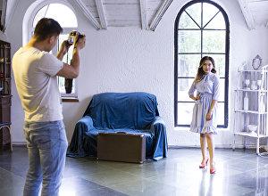 Профессиональная фотосессия для Мэлани Сариевой