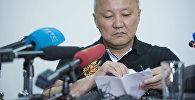Бишкектин экс-мэри Нариман Түлеевдин архивдик сүрөтү