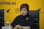 Координатор общественного движения Бессмертный полк в Бишкеке Зульфира Хайбуллина