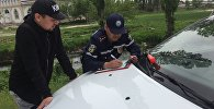 Рейд УОБДД на автодороге Бишкек — Нарын — Торугарт