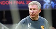 Архивное фото бывшего главного тренера ФК Манчестер Юнайтед Алекса Фергюсона