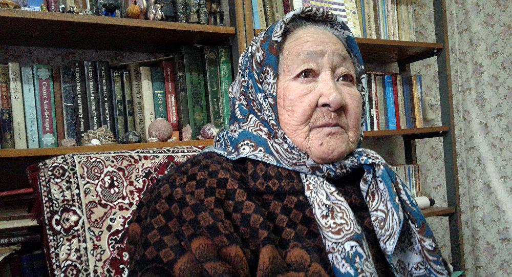 Өмүрү көрбөгөн кыргыз элине келип, анын салт-санаасын, нарк-насилин сиңирип, кыргыз болгон кытай кызы Тамара Саспаева