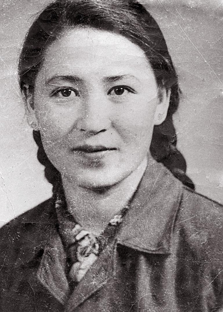Жительница Каракола, родом из Китая Тамара Саспаева в молодости