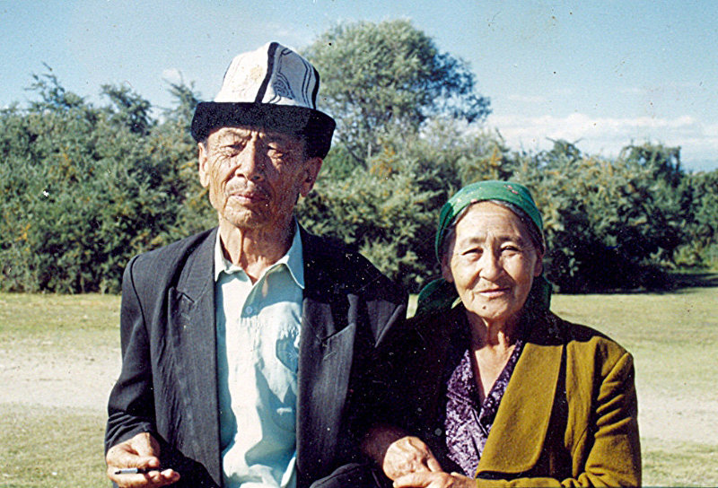Жительница Каракола, родом из Китая Тамара Саспаева с мужем