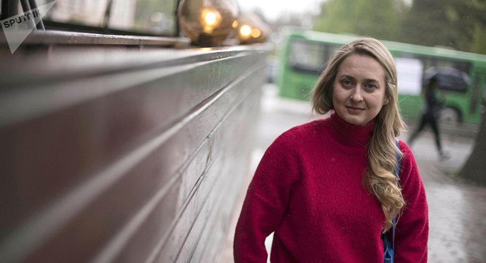 Композитор, выпускница бишкекской музыкальной школы имени Петра Шубина Екатерина Михайлова