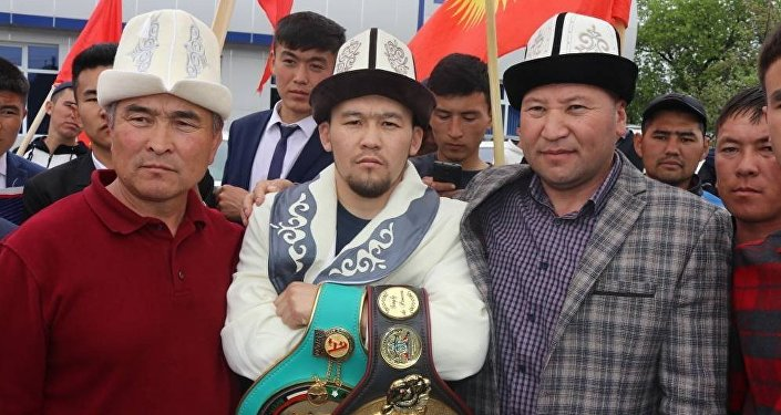 Трехкратный чемпион КР по боксу Акжол Сулайманбек уулу