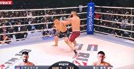 Японец нокаутировал американца за 9 секунд — впечатляющее видео