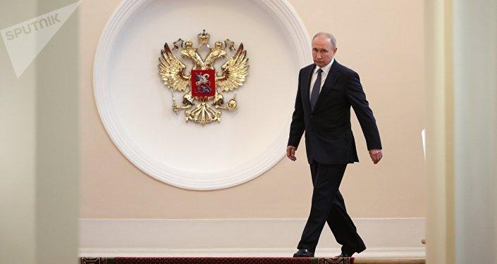 Россиянын президенти Владимир Путин инаугурация аземинде