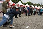 Кыргызстанцы на мероприятии Межнациональная встреча студентов в Конье