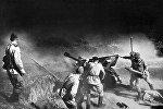 Улуу Ата Мекендик согуштун жоокерлери. Архив