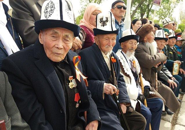 Празднование 73-й годовщины Дня Победы в Нарынской области
