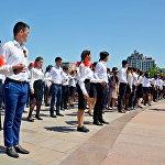 Вальса Победы в Бишкеке