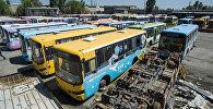 Как выглядит кладбище бишкекских автобусов — впечатляющие кадры