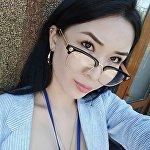 Корреспондент Sputnik Кыргызстан Жасмин Малашева. Архивное фото