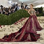 Модный бал Met Gala 2018 в Нью-Йорке
