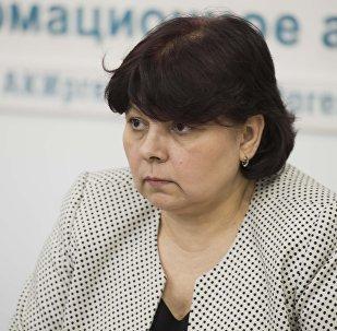 Экс-каржы министри Ольга Лаврова. Архив