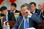 Архивное фото экс-премьер-министра Жанторо Сатыбалдиева