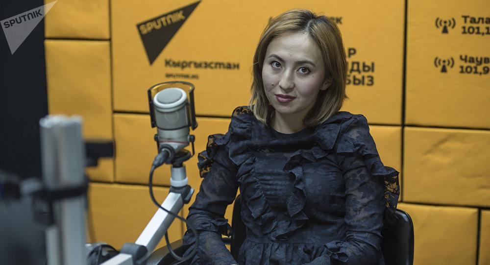 Директор бишкекской Сети детских образовательных центров Жибек Шарапова