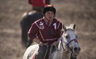 Брат известного кыргызстанского спортсмена в кок бору Манаса Ниязова Байыш Ниязов. Архивное фото