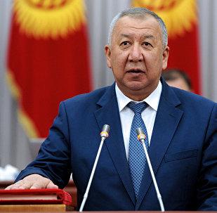 Биринчи вице-премьер-министр Кубатбек Бороновдун архивдик сүрөтү