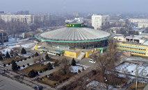 Здание Кыргызского государственного цирка. Архивное фото