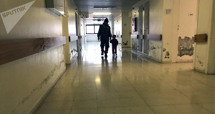 Пациенты в больнице. Архивное фото