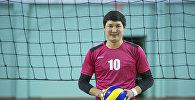 КРдин Волейбол федерациясынын мүчөсү, курама команданын чабуулчусу Талгат Чалмашбеков