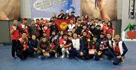 Кыргызстанская спортсменка на чемпионате Азии по кикбоксу в Чолпон-Ате