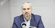 Глава Центра по защите прав потребителей Денис Старуш в эфире радиостудии Sputnik Молдова