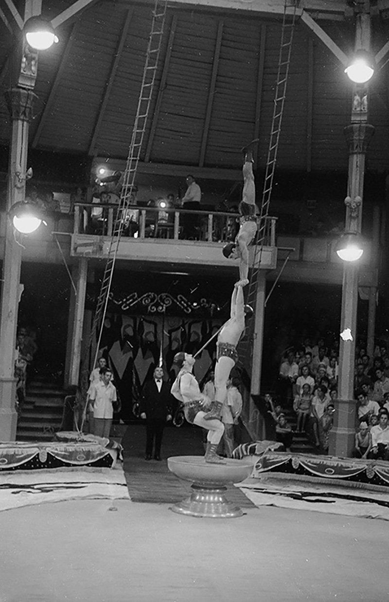 Гастроли грузинского цирка. 1965 год