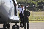 Визит президента Франции Эммануэля Макрона в Новую Каледонию