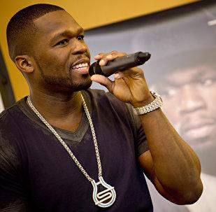 Американский рэппер 50 Cent. Архивное фото