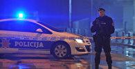 Полиция в Черногории. Архивное фото