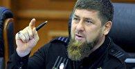 Чеченстан башчысы Рамзан Кадыров. Архивдик сүрөт