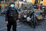 Индонезиядагы теракттын кесепети. Архивдик сүрөт