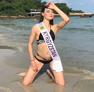 Чолпон Мамбетова на конкурсе красоты Miss Tourism Quenn International — 2018 в Таиланде
