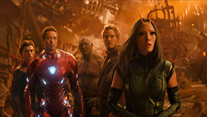 Marvel студиясынын Мстители: Война бесконечности тасмасы. Архивдик сүрөт