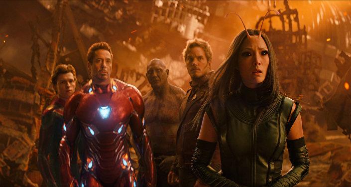 Кадр из фильма Мстители: Война бесконечности. Архивное фото