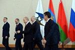 Президенты стран ЕАЭС на заседании Высшего Евразийского экономического совета в Сочи