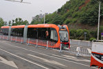 В Китае показали первый в мире поезд, работающий на батарейках — видео