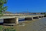 Мост на участке автодороги Акталчат–Казарман в Ак-Талинском районе. Архивное фото