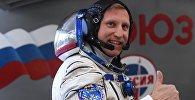 Член основного экипажа МКС-56/57 космонавт Роскосмоса Сергей Прокопьев. Архивное фото