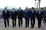 Сочини аралай баскан ЕАЭБге мүчө өлкөлөрдүн президенттери