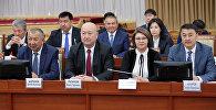 Представители кабинета министров Кыргызстана. Архивное фото