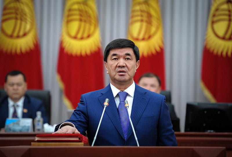 Премьер-министр КР Мухаммедкалый Абылгазиев принял присягу на заседании Жогорку Кенеша Кыргызской Республики.