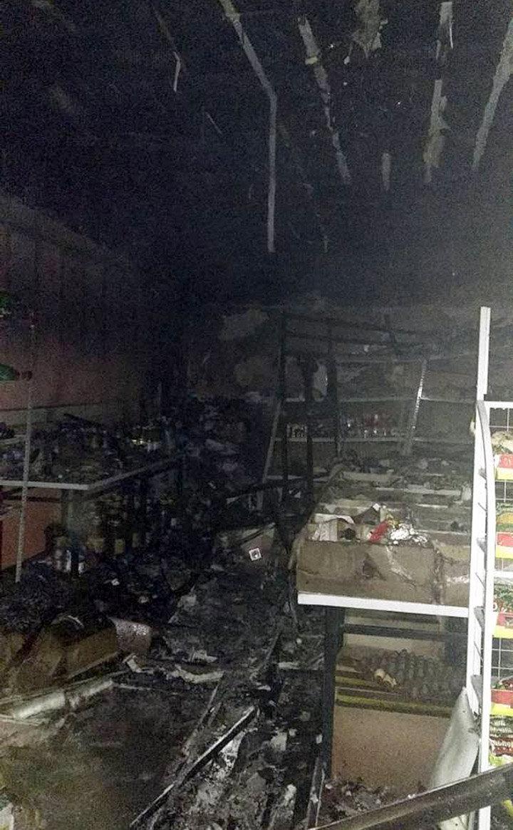 Потушен пожар, произошедший на въезде в город Ош
