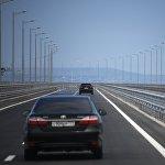 Мост возвели над Керчинским проливом