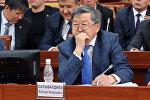 Экс-премьер-министр Жанторо Сатыбалдиев. Архивное фото