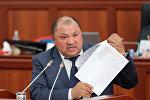 Архивное фото депутата ЖК 6 созыва от фракции СДПК Кожобека Рыспаева