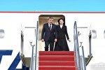 Президент РУз Шавкат Мирзиёев вместе с супругой Зироатхон Хошимовой прибыл в США с официальным визитом